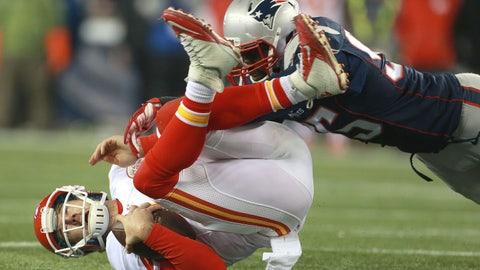 Kansas City Chiefs: Alex Smith's limitations