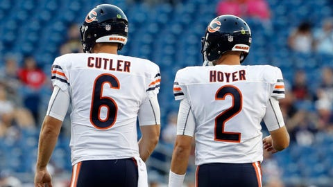 Chicago Bears: Brian Hoyer, David Fales