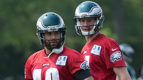 Philadelphia Eagles: Chase Daniel, Carson Wentz
