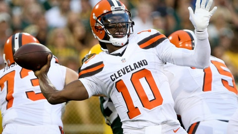 You can hold off on buying the RG3 redemption tour tickets