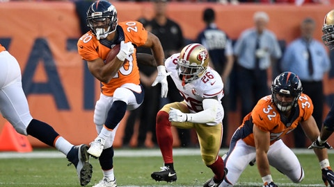 Denver Broncos -- Devontae Booker (RB)