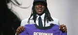 Ravens receiver says he lost 'three or four pounds' after cutting hair