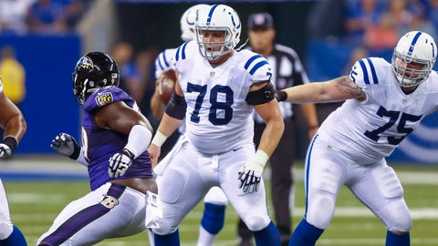Indianapolis Colts: offensive line play