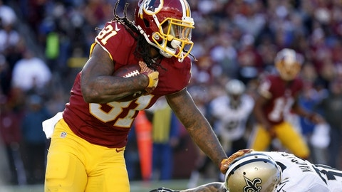 Washington Redskins: the running game