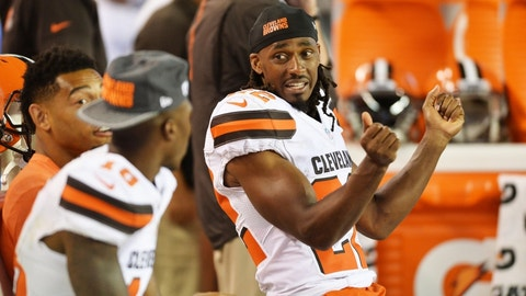 Falling: Cleveland Browns CB Tramon Williams