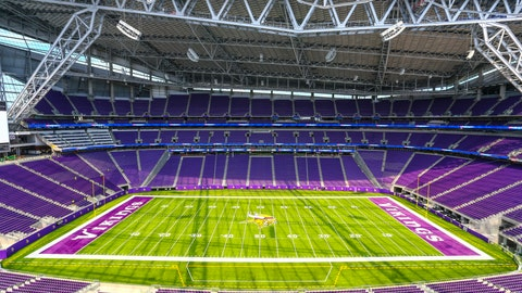 U.S. Bank stadium pulled out all the stops