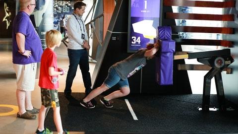 Vikings Voyage, an interactive fan space