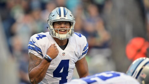 Dak Prescott, QB, Dallas Cowboys