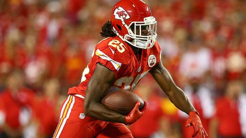 RB Jamaal Charles to Miami Dolphins • WR DeVante Parker to Kansas City Chiefs