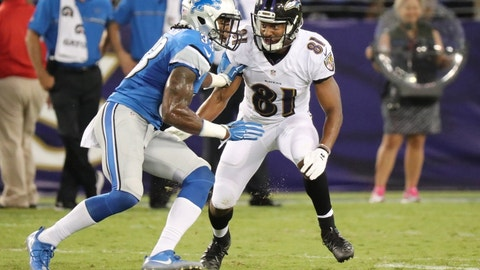December 3: Detroit Lions at Baltimore Ravens, 1 p.m. ET