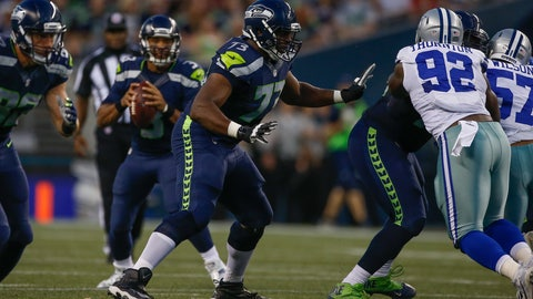 Worst offensive line: Seahawks