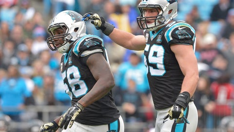Best linebackers: Panthers