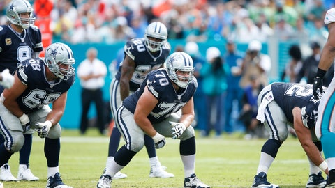 Best offensive line: Cowboys