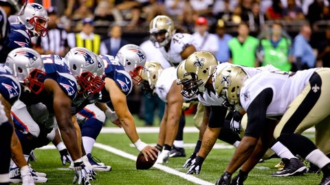 September 17: New England Patriots at New Orleans Saints, 1 p.m. ET