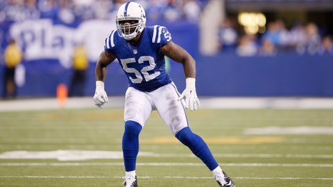Worst linebackers: Colts