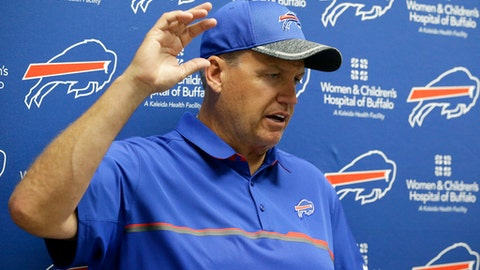 Narrative: Buffalo Bills head coach Rex Ryan is sitting on the hottest hot seat