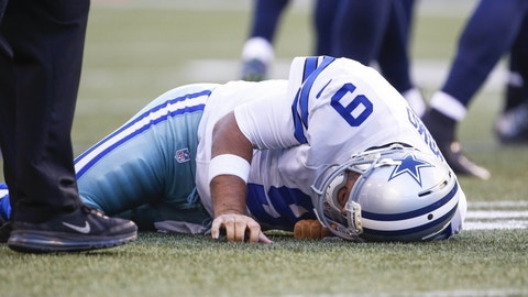 The straw that broke Romo's back
