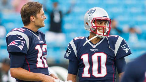 Narrative: Jimmy Garoppolo should remain the Patriots' starting QB after Tom Brady's suspension ends