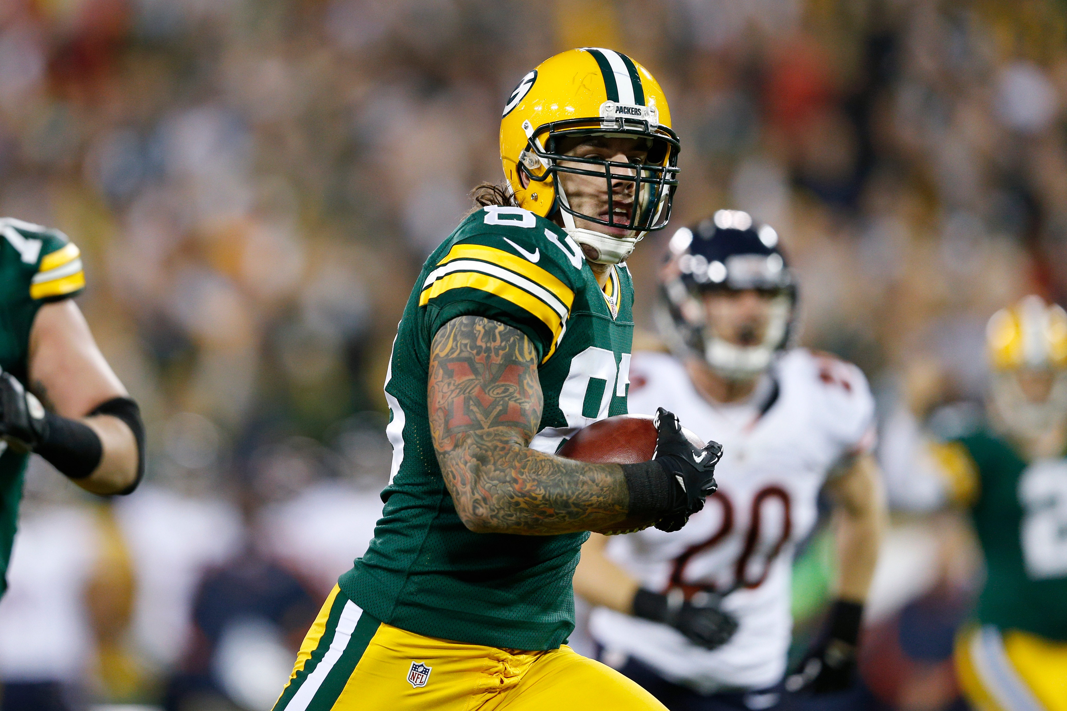timeless design 1656b 8a909 Former Packers' tight end Tom Crabtree rips Colin Kaepernick ...