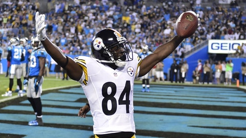 Antonio Brown will win the matchup with Josh Norman