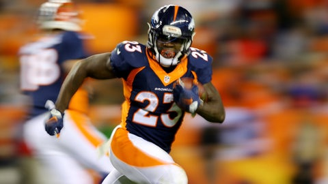 Ronnie Hillman - RB - Denver Broncos