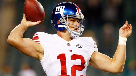 Ryan Nassib - QB - New York Giants