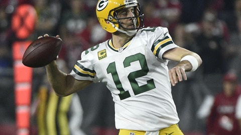 No. 37 - Aaron Rodgers