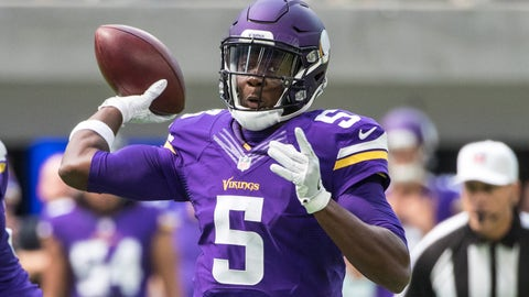 Teddy Bridgewater, QB, Vikings (knee)