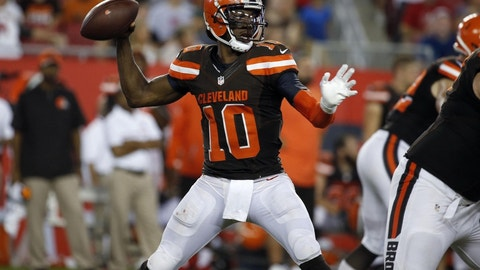 Cleveland Browns: Robert Griffin III, QB