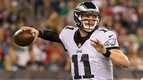 Carson Wentz, QB, Eagles (ribs)
