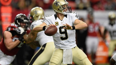Drew Brees is outstanding at home in primetime