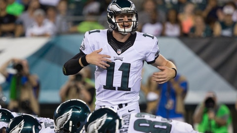 Carson Wentz will be the Offensive Rookie of the Year