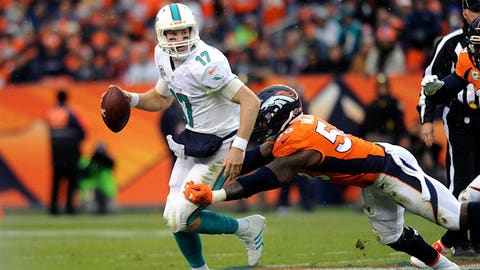 December 3: Denver Broncos at Miami Dolphins, 1 p.m. ET