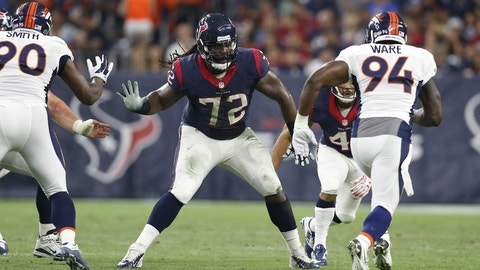 Houston Texans: Right tackle