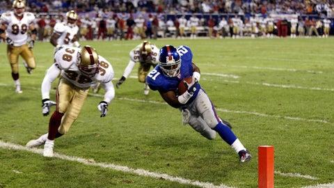 2002: 49ers 16, Giants 13