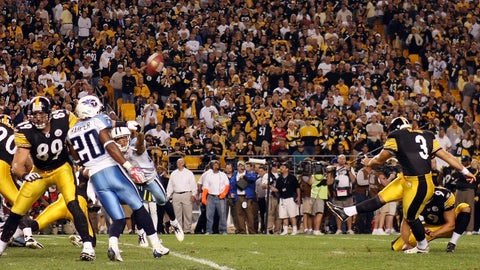 2009: Steelers 13, Titans 10