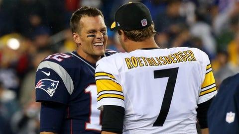PATRIOTS (-6) over Steelers (Over/under: 51)