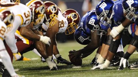 2008: Giants 16, Redskins 7