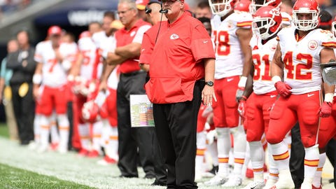 CHIEFS (-3) over Jets (Over/under: 43)
