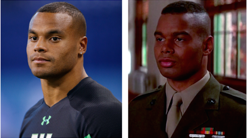 "Dak Prescott (Cowboys) and Dawson from ""A Few Good Men"""