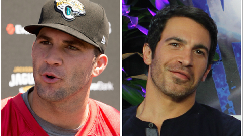 Blake Bortles (Jaguars) and Chris Messina
