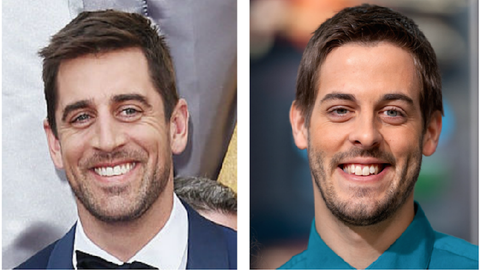Aaron Rodgers (Packers) and Derick Dillard