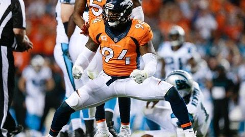 Denver Broncos: DeMarcus Ware, OLB, age 34