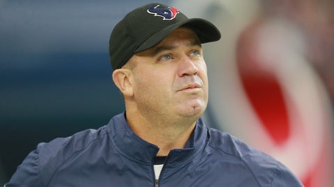 Texans coach Bill O'Brien, on sleeping in his office to prepare for short week