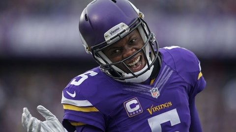 Teddy Bridgewater, Vikings quarterback (?????)