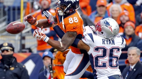 Denver Broncos vs. New England Patriots