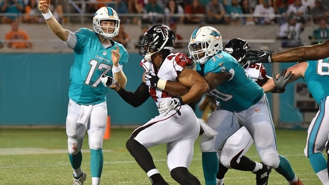 October 15: Miami Dolphins at Atlanta Falcons, 1 p.m. ET
