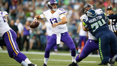 QB Shaun Hill, unrestricted