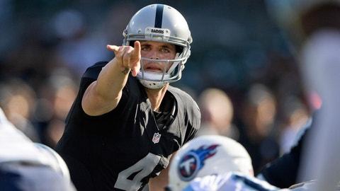 Sunday: Raiders at Titans
