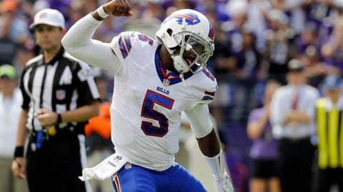 Tyrod Taylor: the sound and the fury